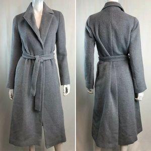 Katharine Hamnett London Wool Belted Overcoat